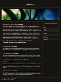 ChaoticSoul WordPress Theme