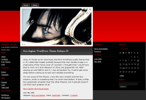 WordPress Theme Neo-Sapien