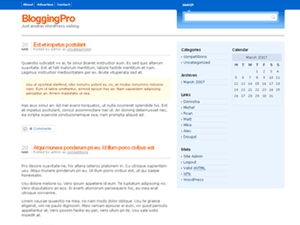 Blogging Pro's Theme Released