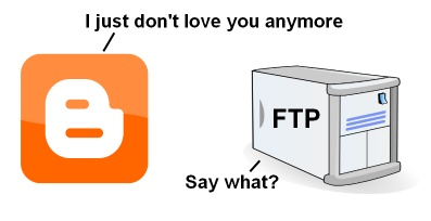 Google To Shut Down FTP For Blogger (Thousands Cry Out In Terror)