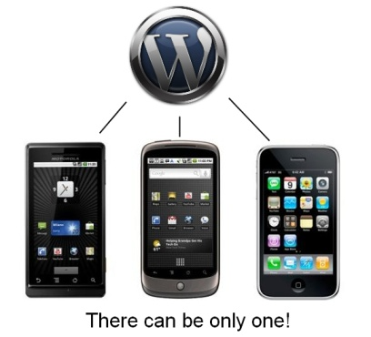 Family Feud: WordPress Vs WordPress (On The Blackberry, iPhone And Android)