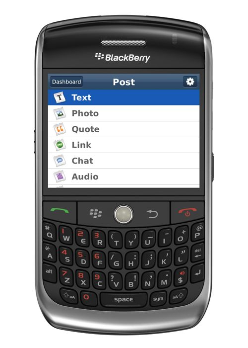 Tumblr Launches Blackberry App (But None For Android Lovers?)