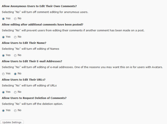 Ajax Edit Comments WordPress Plugin Review