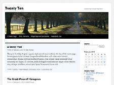 Twenty Ten: The New and Improved Default WordPress Theme