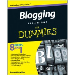 Blogging All-in-One for Dummies Now Available