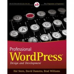 Professional WordPress book cover