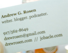 How to Create Blogging Business Cards