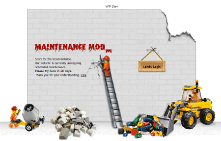 I Love that WordPress Plugin – WP Maintenance Mode