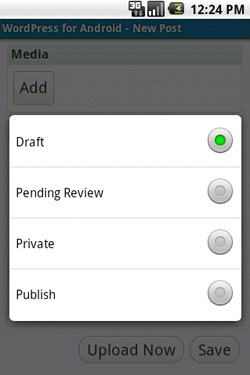 New WP Version for Android