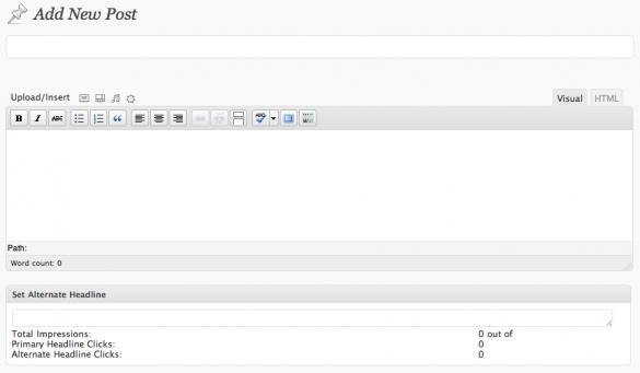 Headline Splitter WordPress Plugin