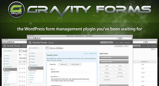 Top Ten WordPress Contact Form Plugins