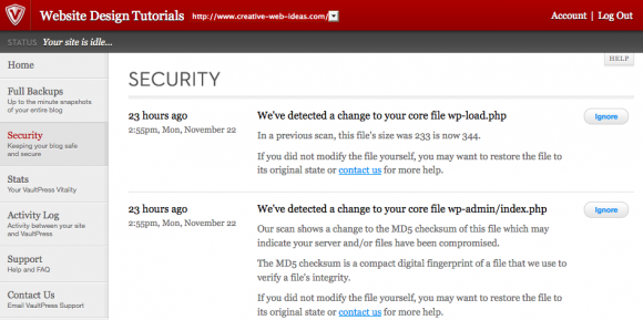 New VaultPress Security Premium Security Plugin