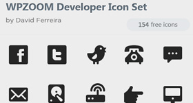 154 Free Monochrome Developer Icons