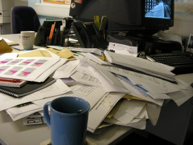 Stressful Desk