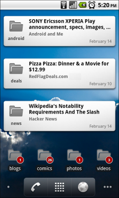 Google Reader: Did You Update Your Android App Today?