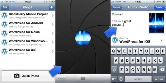 WordPress For iOS Makes Photo Blogging Fun Again