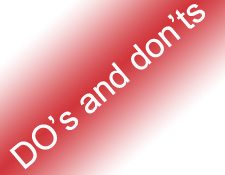 5 DO'S and DON'T'S of On-page Optimization