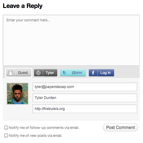 WordPress Embraces Social Commenting, Are Google Accounts Next?