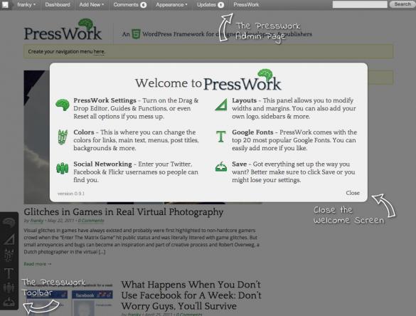 PressWork Infotorial