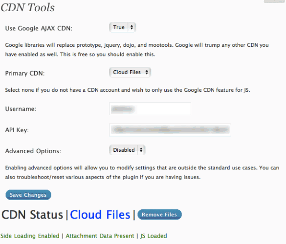 CDN Tools WordPress