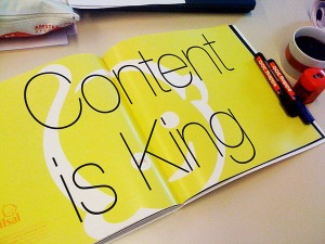 "Creating Consistency On Your Blog With Persistent ""Focused Content"""