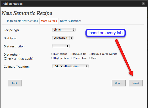 HRecipe Semantic Search