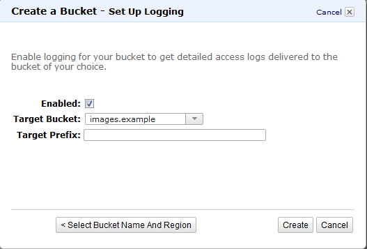 Target Bucket Enabling