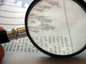 Magnify Writing Image