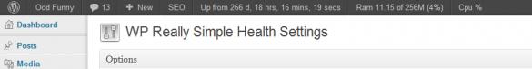 Simple Health Plugin WordPress