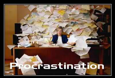 Procrastination, a Foe of Creation!