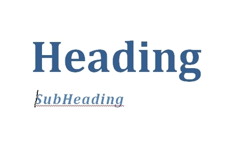 Writing online: why you should be F'ing up your sub-headings