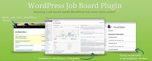 WPJobBoard Page