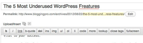The 5 Most Underused WordPress Features