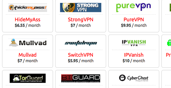 bestvpn comparison tool website homepage interface