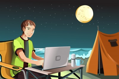 3 Tips on Blogging About Your Camping Adventures
