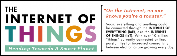 The Internet of Things: Heading Towards a Smaller Planet