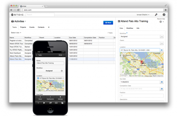 STOIC – Create Apps on the Fly with Your Spreadsheet Data