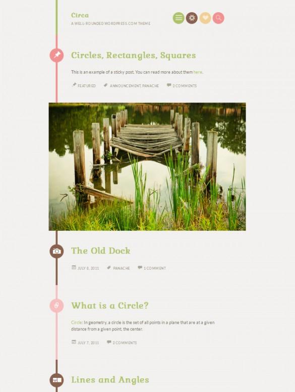 wordpress themes of 2014