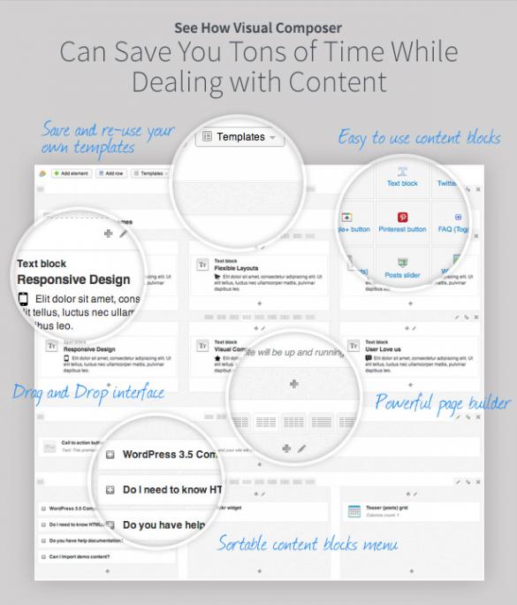 visual composer drag and drop wordpress plugin