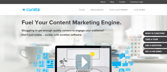 Content Curation Content Marketing Solution Curata
