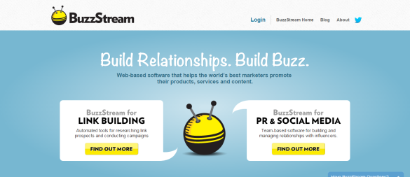 Link Building and Digital PR Tools BuzzStream