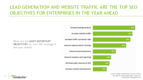 Inside Enterprise SEO: SEO Survey Benchmarks for Large Companies
