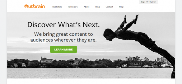 The Most Trusted Content Discovery Platform   Outbrain
