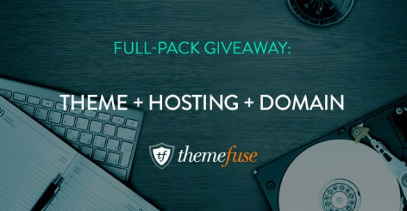 WIN a WordPress Theme + 1 Year Hosting Plan + 1 Optional Free Domain From ThemeFuse