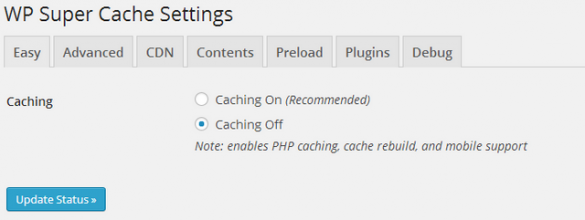 WP Super Cache – Detailed Configurations for Better Performance