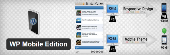 WordPress › WP Mobile Edition « WordPress Plugins