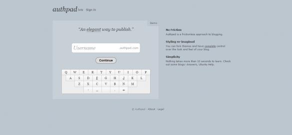 Authpad - wordpress alternatives