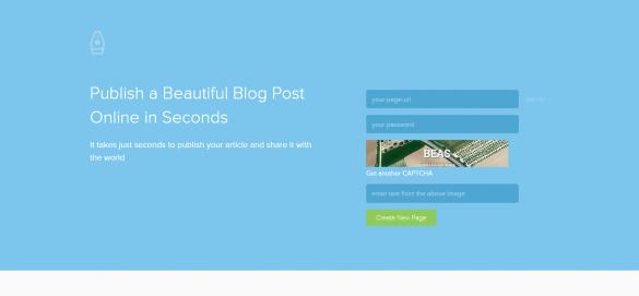 Pen.io   Publish a Beautiful Blog Post