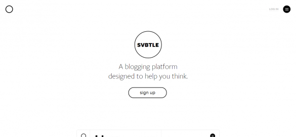 Svbtle - wordpress alternatives