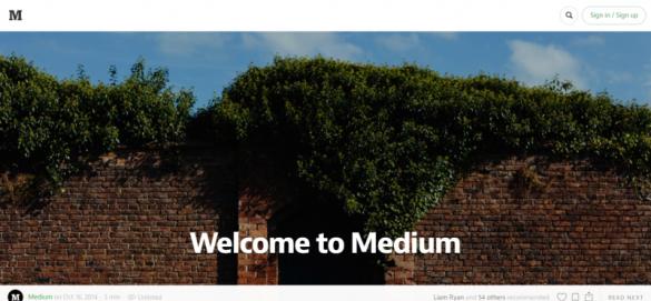 Welcome to Medium — Medium - wordpress alternatives